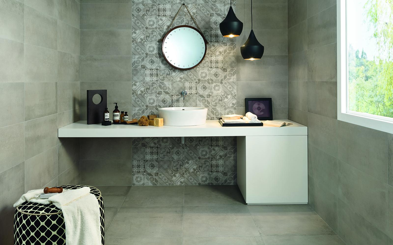 Greige Ceramic Tile